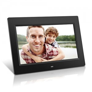 Aluratek ADMPF310F 10-Inch Digital Photo Frame with 4GB Built-In Memory (Black)