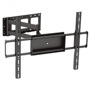 Black Full-Motion Tilt/Swivel Corner Friendly Wall Mount Bracket for HP LD4210 42″ inch LCD Digital Signage – Articulating/Tilting/Swiveling