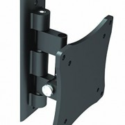 Black-Full-Motion-TiltSwivel-Wall-Mount-Bracket-for-Samsung-LH22DBDPTGCGO-22-inch-LED-Digital-Signage-ArticulatingTiltingSwiveling-0
