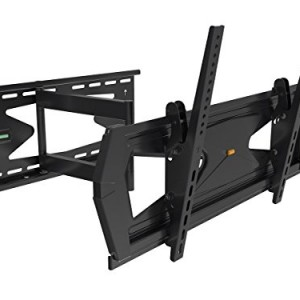 Black Full-Motion Tilt/Swivel Wall Mount Bracket with Anti-Theft Feature for Sharp PN-Y475 47″ inch LED Digital Signage – Articulating/Tilting/Swiveling