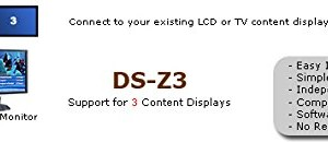 DS-Z3 – 3 Display Digital Signage Computer