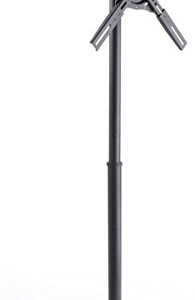 Digital Window Display System, Flush Mount Stand for Most 32″ to 47″ Screens, Counter Balanced Base for Window-based Presentations, Steel (Black)