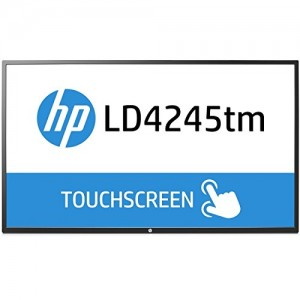 HP LD4245tm 41.92″ 1920 x 1080 500,000:1 Interactive LED Digital Signage Display (F1M93A8) F1M93A8#ABA
