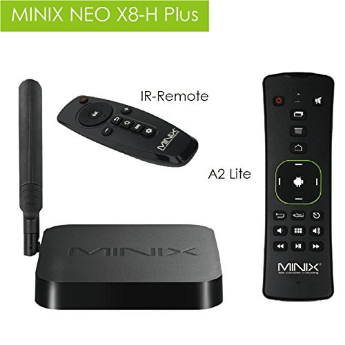 MINIX NEO X8-H Plus Amlogic S812-H Smart TV Box for Android 4 4 with A2  Lite Six-Axis Gyroscope and Gigabit Ethernet LAN, 2GB RAM 16GB eMMC ROM