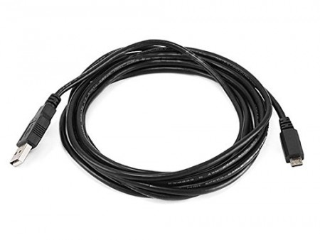 Monoprice 10-Feet USB 2.0 A Male to Micro 5pin Male 28/28AWG Cable (105139)