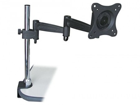Monoprice 3-Way Adjustable Tilting Monitor Desk Mount Bracket (106421)
