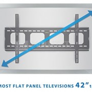 Mount-It-MI-305L-Premium-Low-Profile-Fixed-TV-Wall-Mount-Bracket-for-42-70-inch-LCD-LED-4K-Flat-Screen-TVs-Capacity-220-lbs-Max-VESA-850x450-0-4