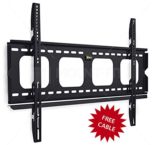 Mount-It-MI-305L-Premium-Low-Profile-Fixed-TV-Wall-Mount-Bracket-for-42-70-inch-LCD-LED-4K-Flat-Screen-TVs-Capacity-220-lbs-Max-VESA-850x450-0