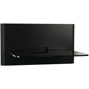 OmniMount Blade 1 Wall Shelf  – Black
