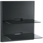 OmniMount-Blade-2-Wall-Shelves-Black-0