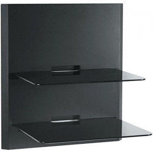 OmniMount Blade 2 Wall Shelves – Black
