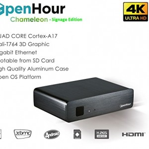 Open Hour 4Kx2K Ultra High Definition Digital Signage / Kiosk Player for Big Screen Portrait and Landscape Advertising (specially designed for long operation hours and easy maintenance)