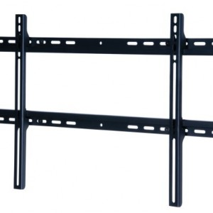 Peerless SF650P Universal Fixed Low-Profile Wall Mount for 37″-75″ Displays (Black/Non-Security)