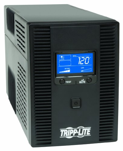 Tripp-Lite-SMART1500LCDT-1500VA-900W-UPS-Smart-LCD-Battery-Back-Up-Tower-AVR-120V-USB-Coax-RJ45-0