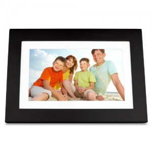 ViewSonic VFD1028W-11 10.1-Inch Digital Photo Frame Features High Resolution 1024×600 (Black)