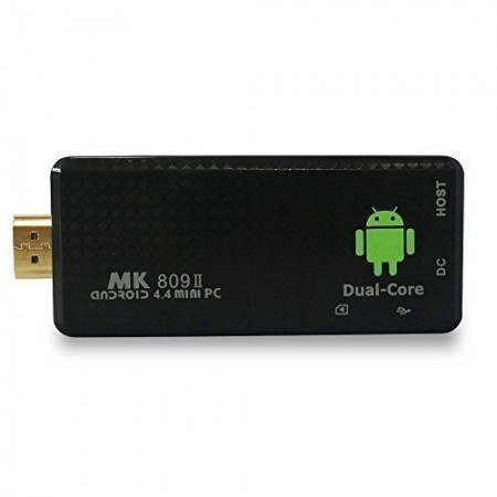 Zibo MK809III Mini PC TV Box, Android 4.4, RK3188T Quad Core 1.8GHz, 2G RAM 8G ROM, GPU Mali-400 MP4, Supports OpenGLES2.0/1.1 and OpenVG1.1